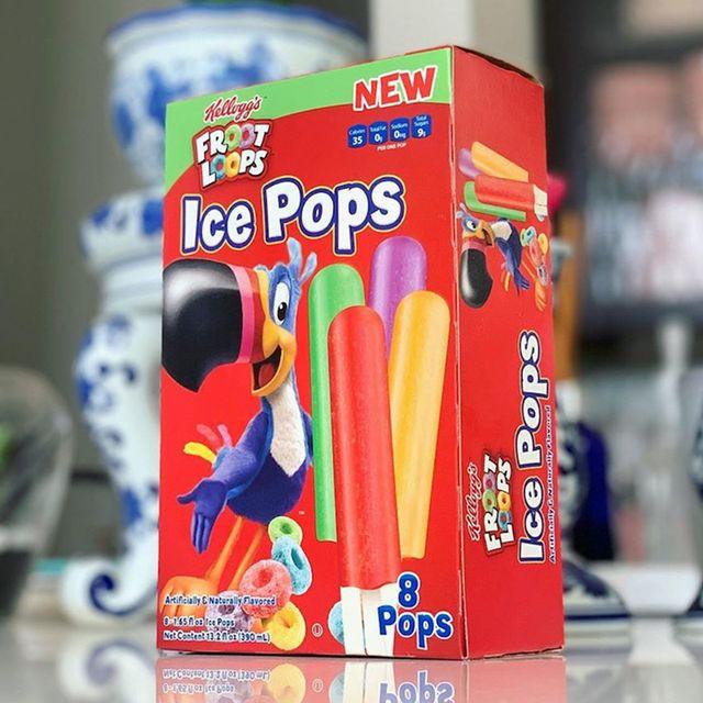 kellogg's froot loops ice pops