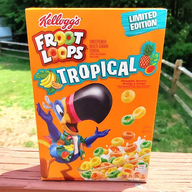 froot loops tropical cereal from kellogg's