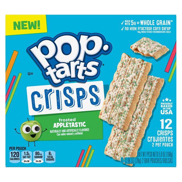 kellogg's pop tarts crisps frosted appletastic