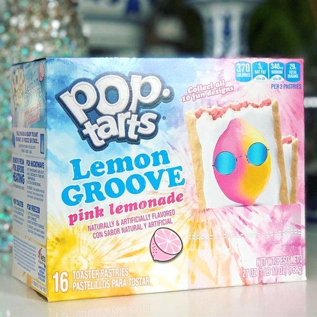 kellogg's pop tarts lemon groove pink lemonade