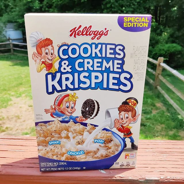 rice cookies  creme krispies cereal from kellogg's