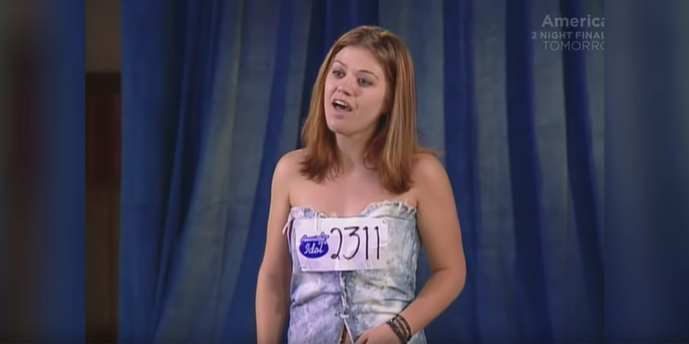 Kelly Clarkson S American Idol Audition
