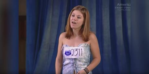 kelly clarkson american idol audition