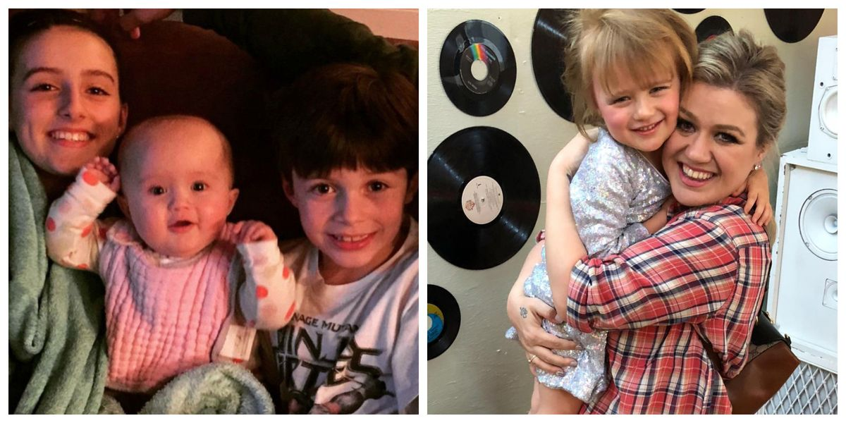 Kelly Clarkson Kids And Family Photos How Many Children