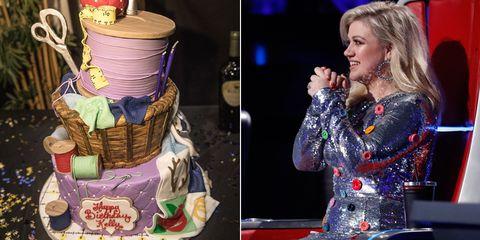 Kelly Clarkson Birthday Cake