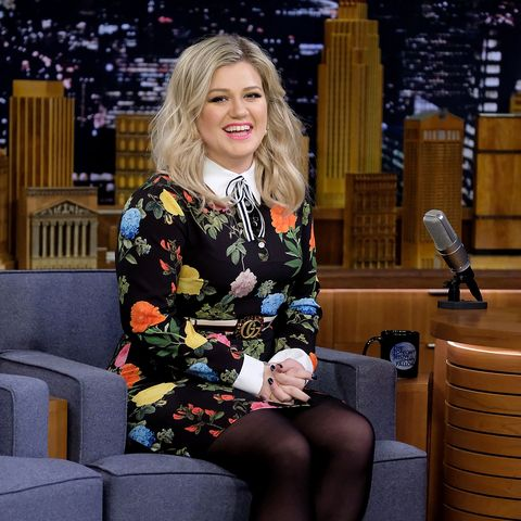 """Kelly Clarkson Visits """"The Tonight Show Starring Jimmy Fallon"""""""