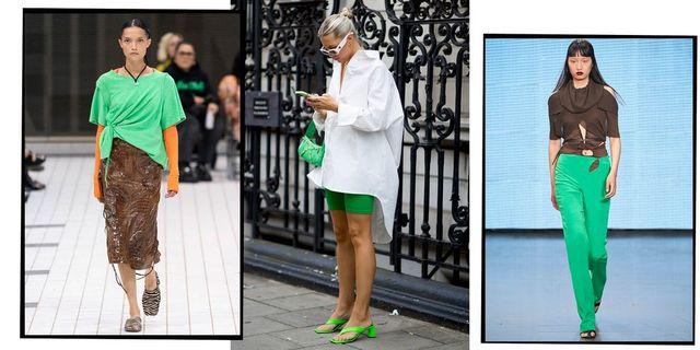 ロンドン コレクション 2022年春夏 ケリーグリーン グリーン トレンド カラー