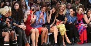LFW SS2013: House Of Holland Front Row