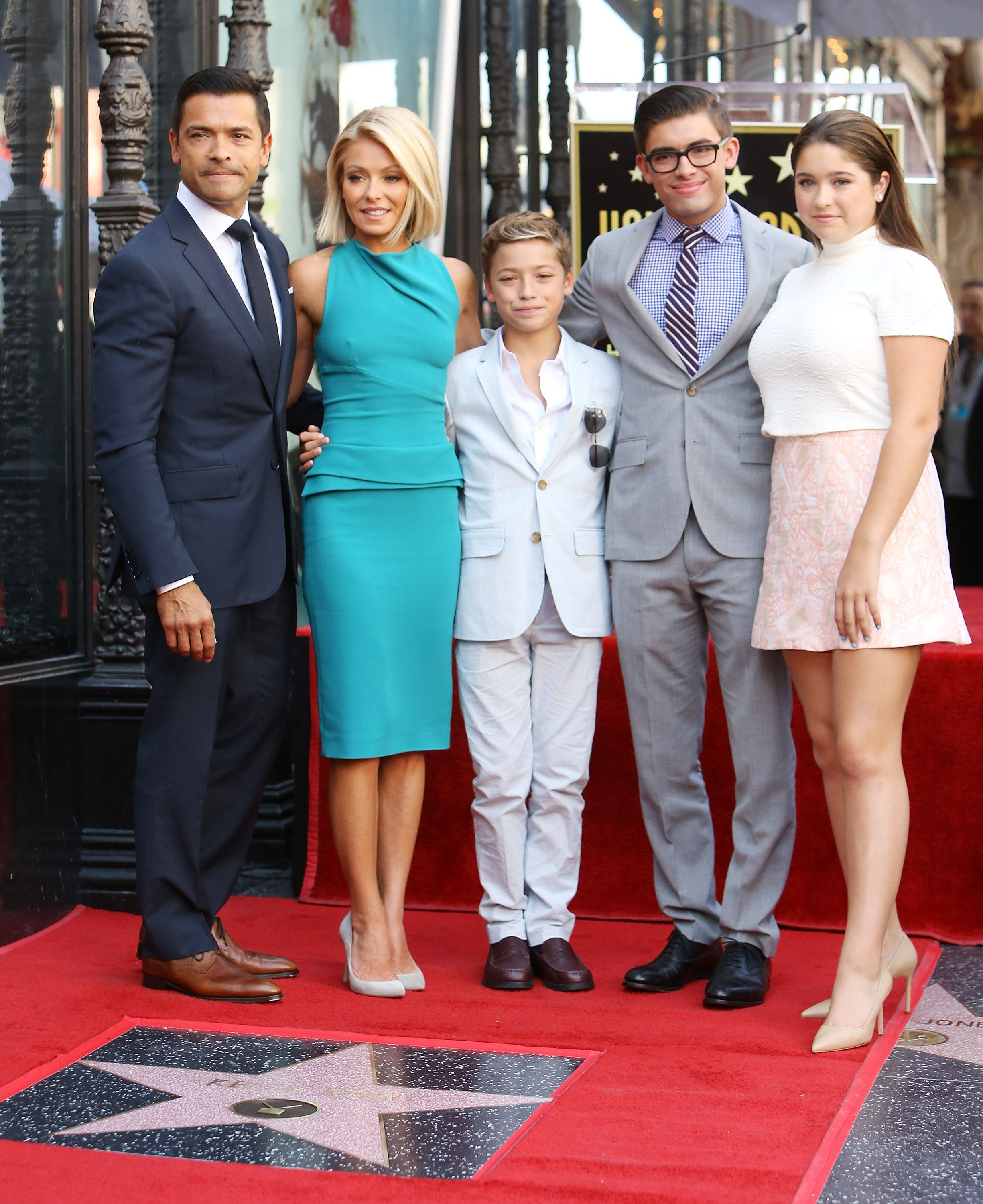 Kelly Ripa And Mark Consuelos' Kids Look SO Much Like Them