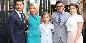 kelly ripa mark consuelos kids