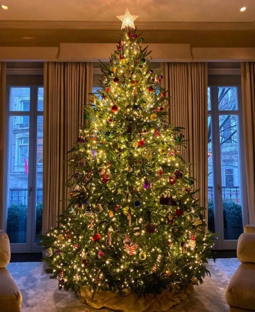 Photos: Festive Celebrity Christmas Trees of 2019
