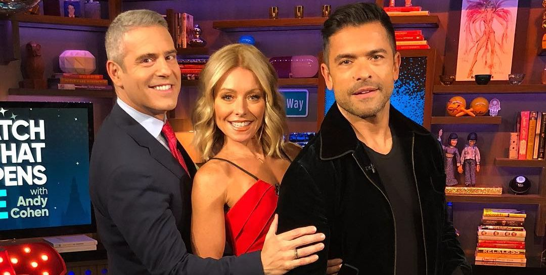 "Kelly Ripa Credits Andy Cohen for First Calling Her Husband Mark Consuelos ""Daddy"""