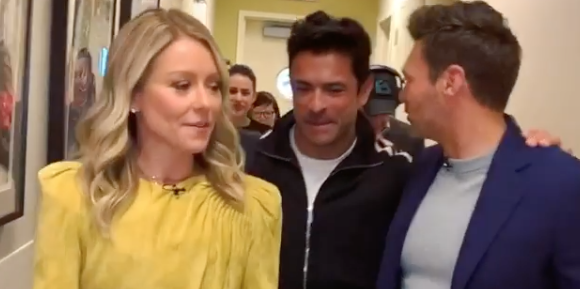 'Live With Kelly and Ryan' Shares an Adorable PDA Moment Between Kelly Ripa and Mark Consuelos