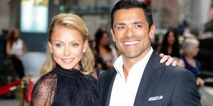 """ABC """"LIVE! With Kelly and Ryan"""" Kelly Ripa and Husband, Mark Consuelos, PDA on Instagram"""
