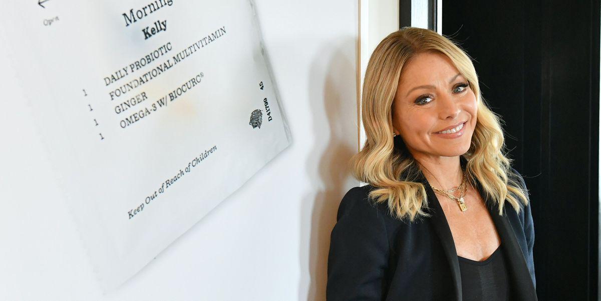Kelly Ripa's Morning Routine Starts Before Sun Rise, and Includes Jade Rolling
