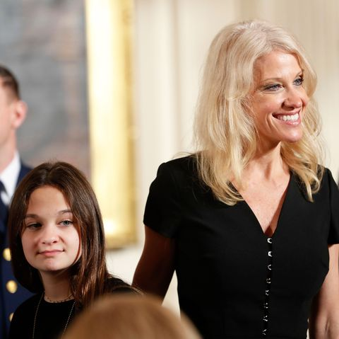 kellyanne conway with claudia conway