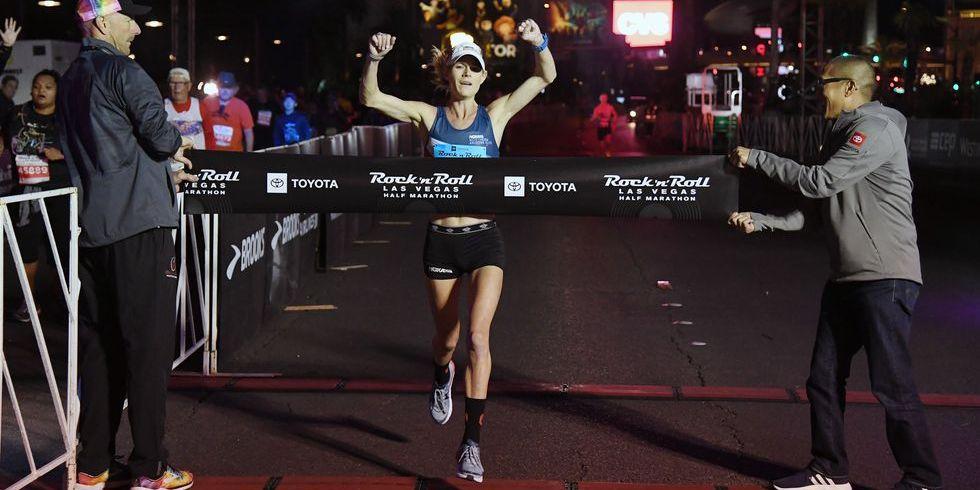 Kellyn Taylor Wins Las Vegas Rock N Roll Half Marathon
