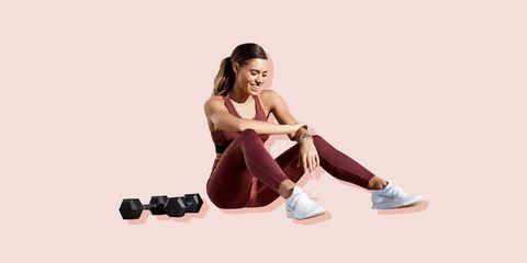 pwr home workout week, kelsey well, women's health uk