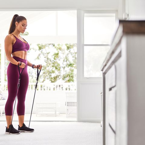 Resistance Band Exercises Workout — These 4 Resistance Band Exercises Will  Work Your Entire Bod in 15 Minutes