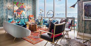 Una casa decorada por el director de moda de Neiman Marcus