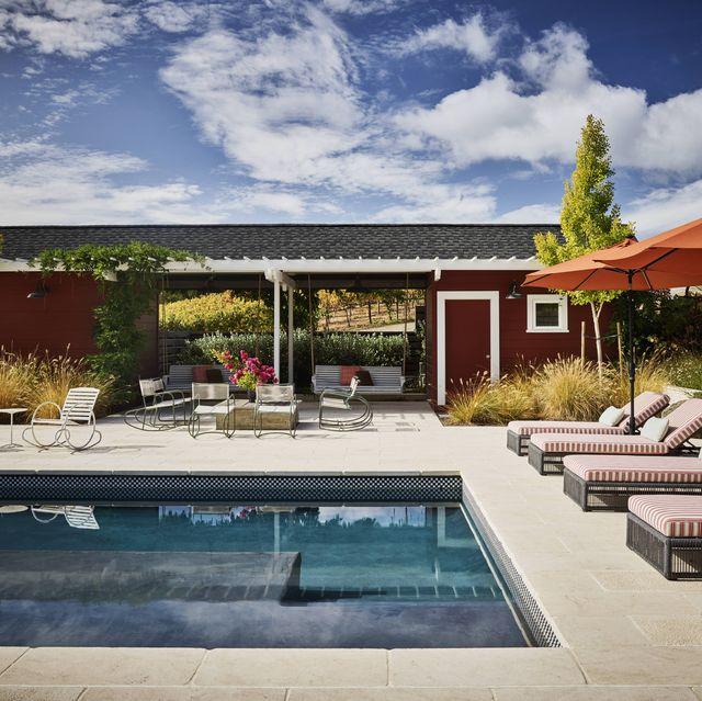 ken fulk healdsburg california pool