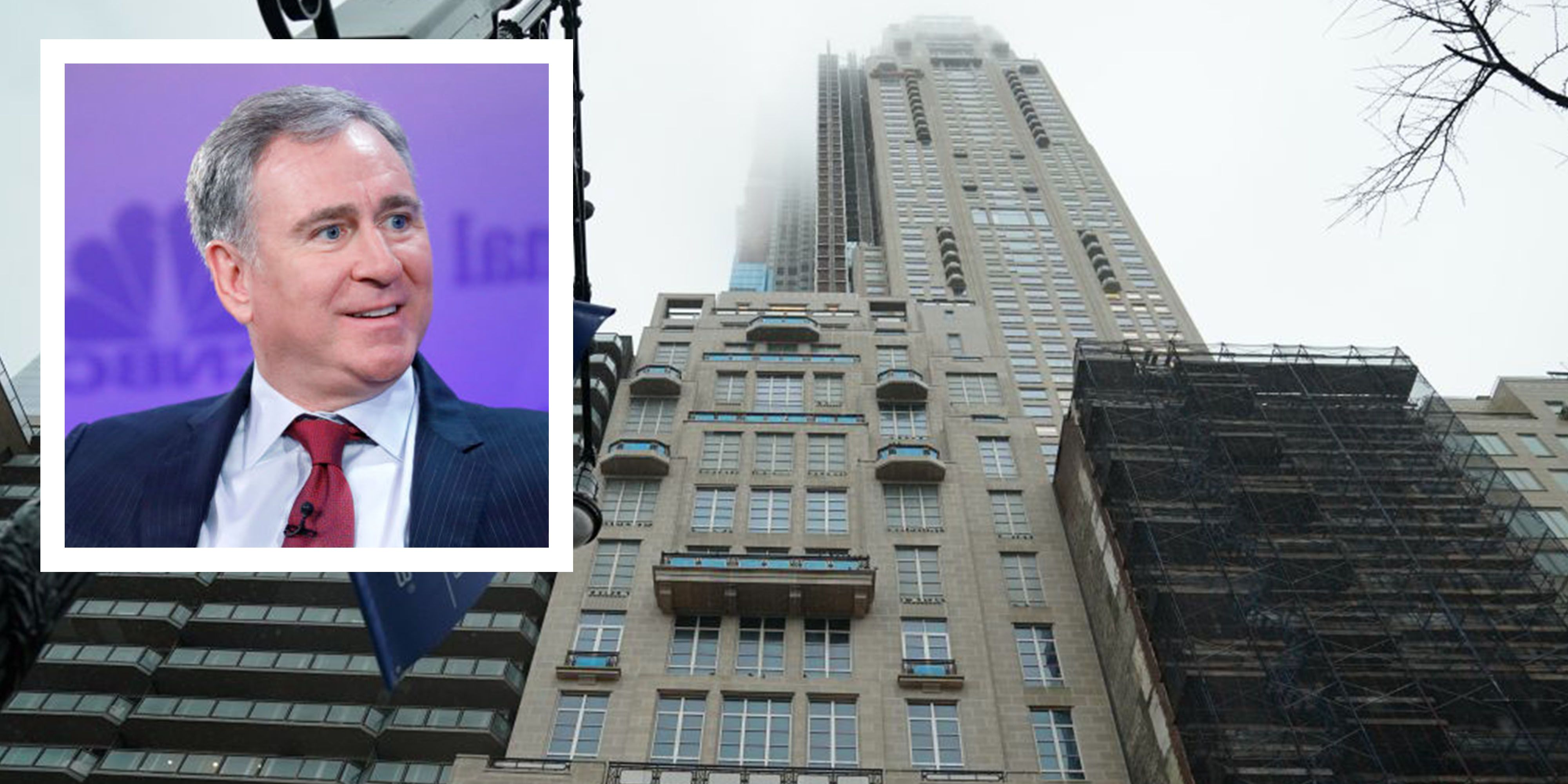 Ken Griffin's $238-Million NYC Penthouse Is the Most Expensive Home in America