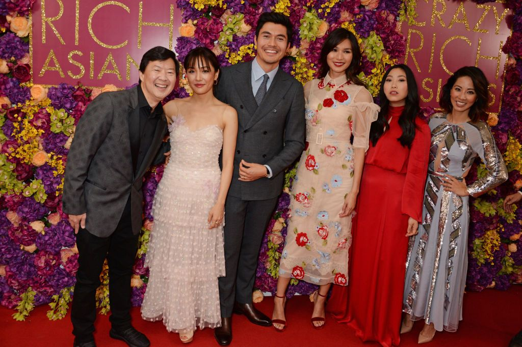 The Crazy Rich Asians cast at a special screening at The Ham Yard Hotel.