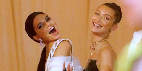 Kendall Jenner y Bella Hadid