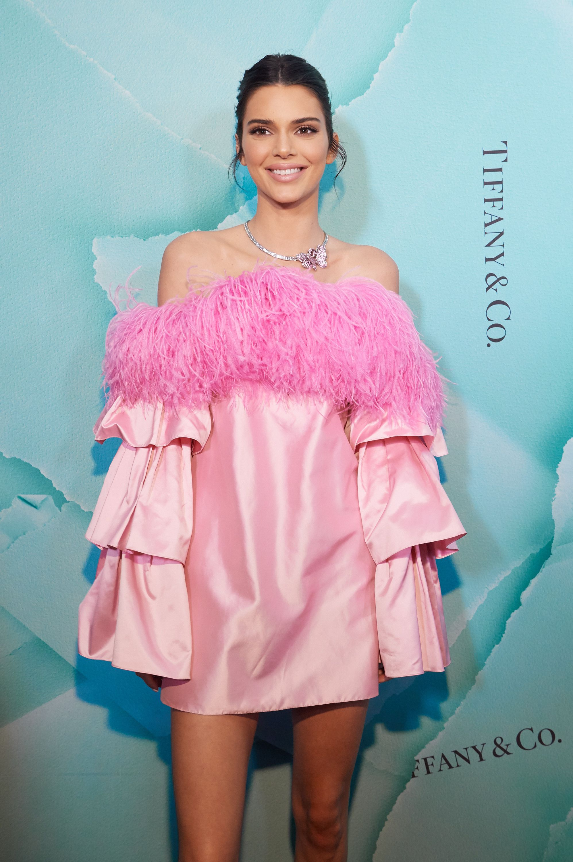 Kendall Jenner Kendall Jenner attends the opening of Tiffany & Co.'s new flagship location on April 4 in Sydney, Australia.