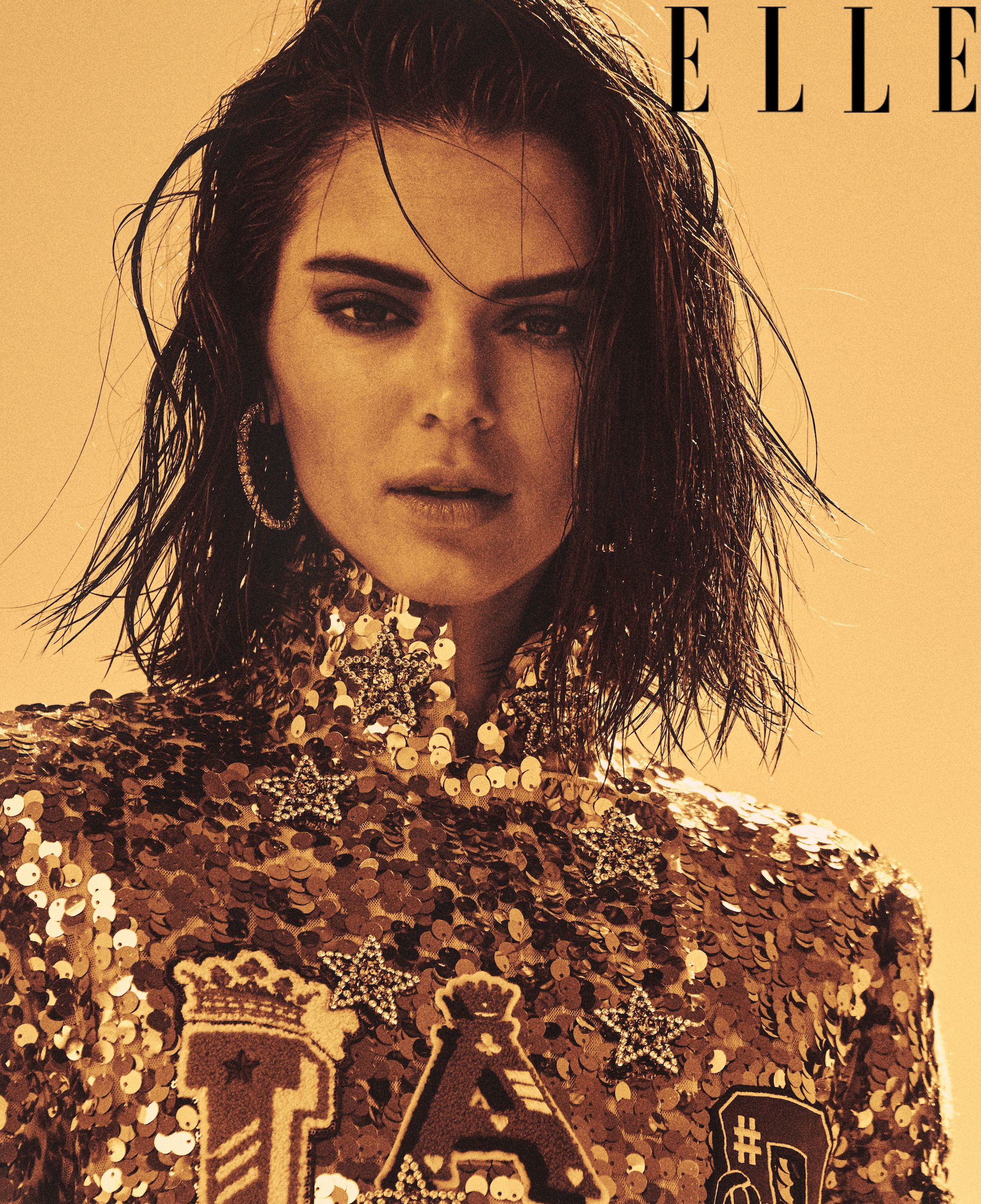 615be2fdb4ba Kendall Jenner Talks to Lana Del Rey for ELLE Cover About Family ...