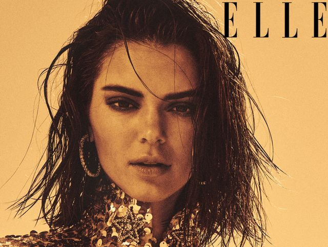 8f9960c0dd1 Kendall Jenner Talks to Lana Del Rey for ELLE Cover About Family ...