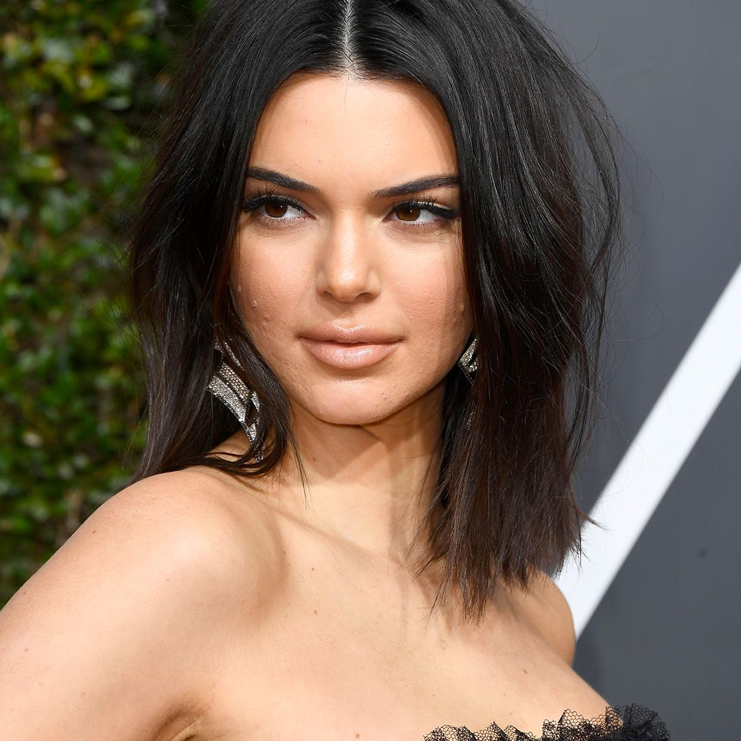 "Kendall Jenner After one fan applauded Kendall for ""strutting her acne"" at the 2018 Golden Globes , Kendall replied ""never let that s--t stop you."" But it took her a while to get there."