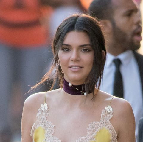 Kendall Jenner Wears A Bright Yellow Super Revealing Bikini On Instagram