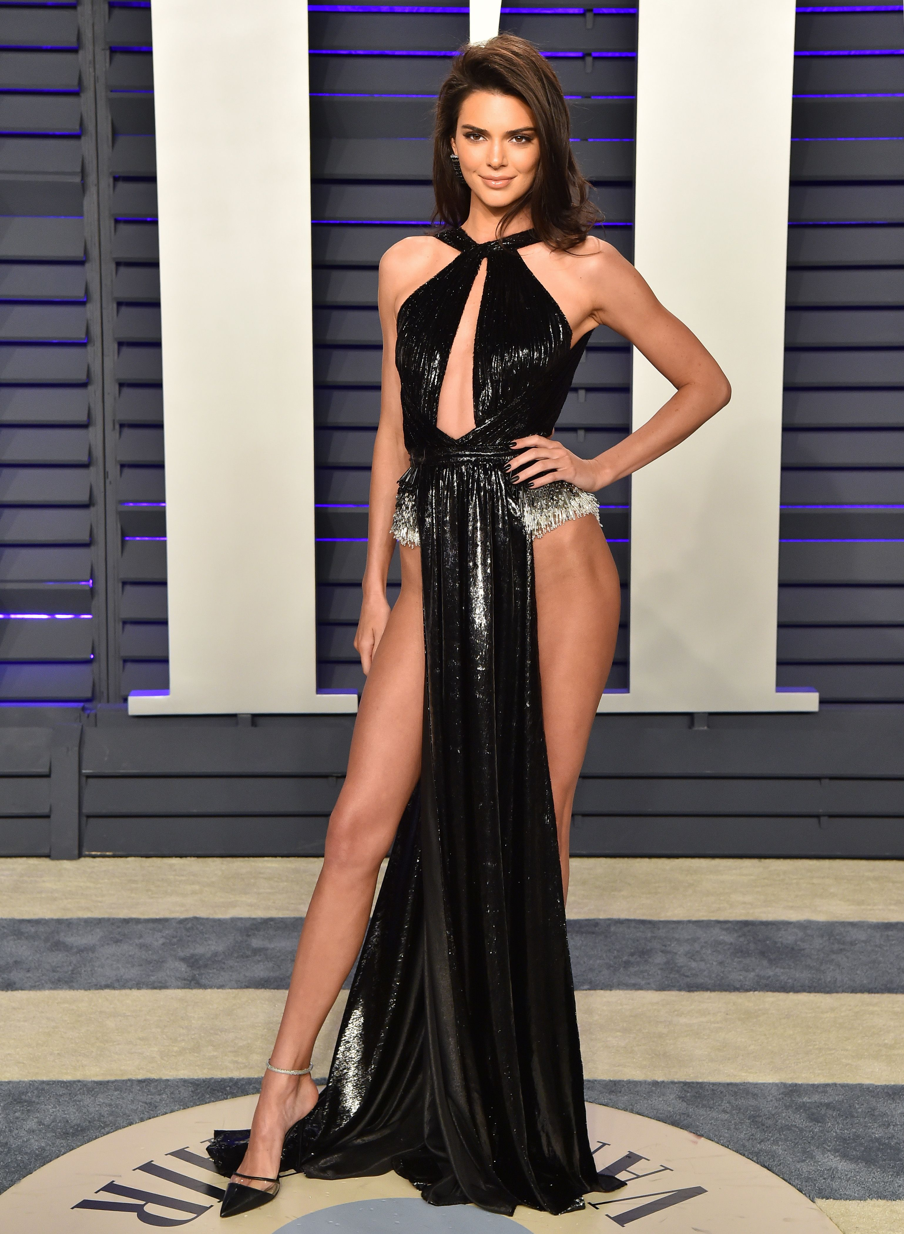 Kendall Jenner at the 2019 Vanity Fair Oscar Party Hosted By Radhika Jones - Arrivals