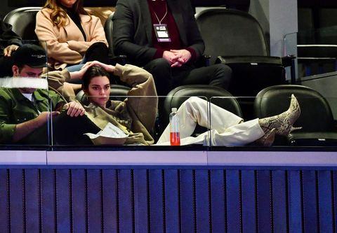 Celebrities Attend The Brooklyn Nets Vs Philadelphia 76ers
