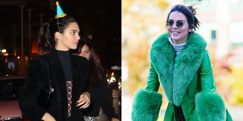 Kendall Jenner enjoys her birthday with Bella Hadid, Tyler The Creator, Joan Smalls, and more