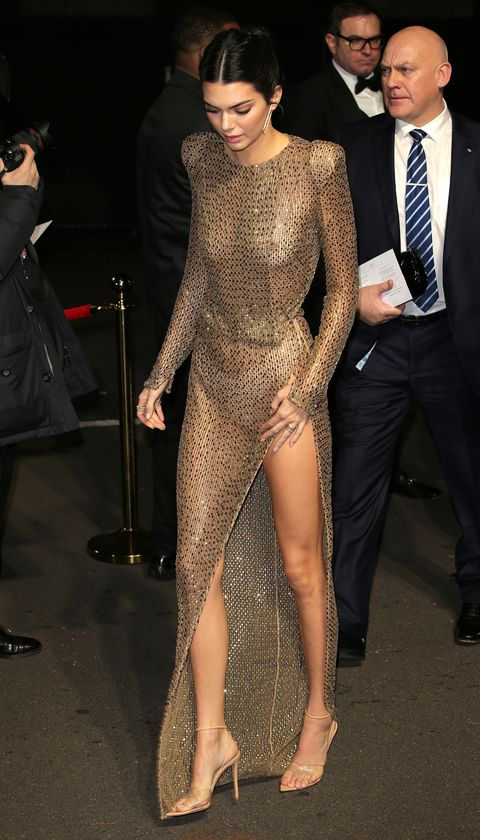 Kendall Jenner Just Wore a Completely Naked Dress to the ...