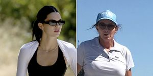 Kendall Jenner y su padre, Caitlyn Jenner