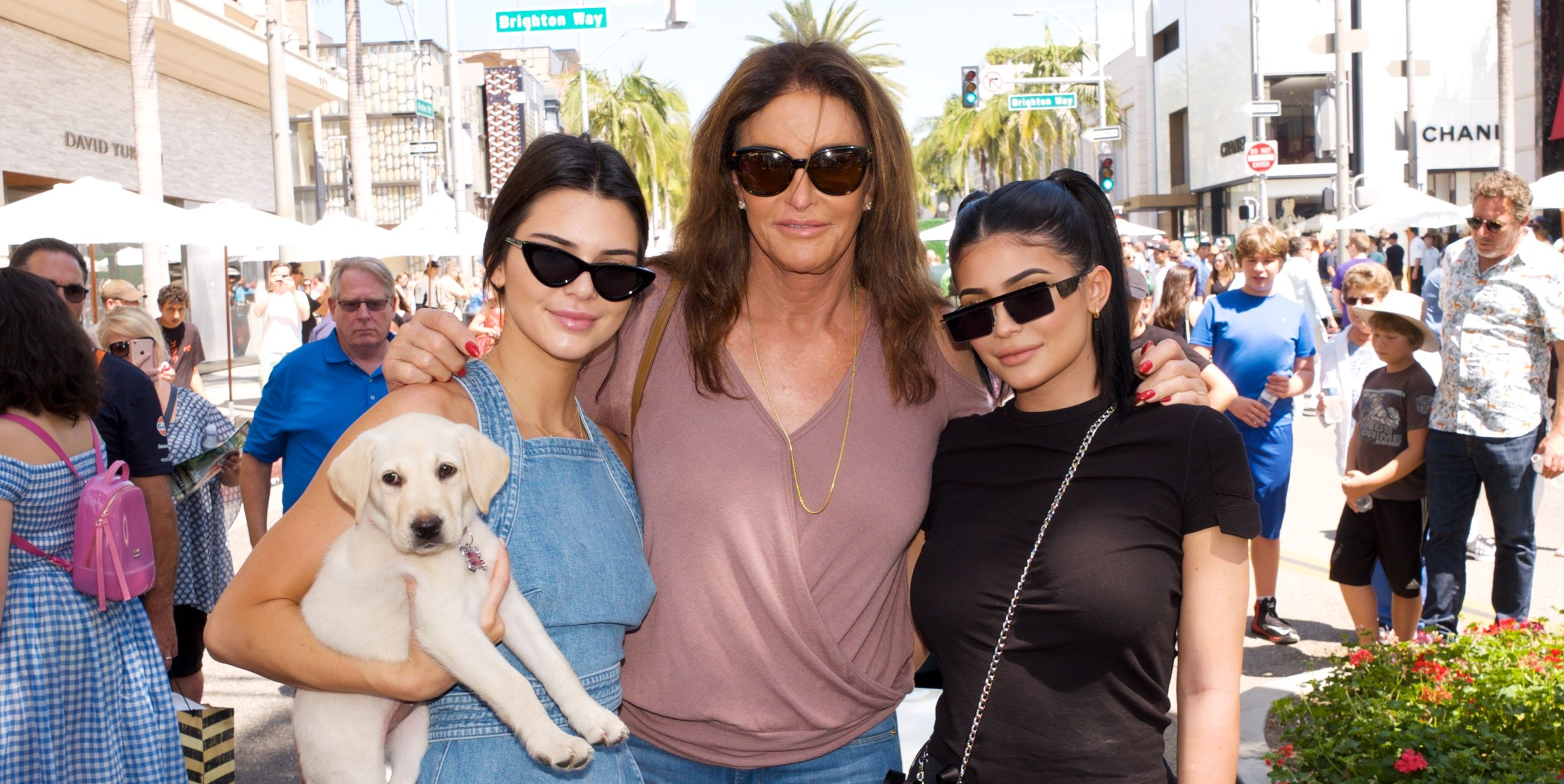 Kendall, Caitlyn, and Kylie Jenner