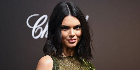 Kendall Jenner Cannes Chopard naked dress
