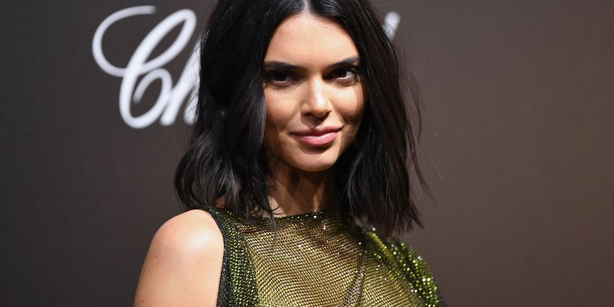 Kendall Jenner Wears Completely Sheer Dress On The Cannes -7317