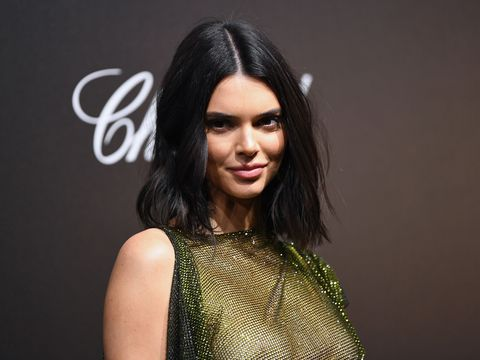 0b253cd430 Kendall Jenner wears completely sheer dress on the Cannes red carpet
