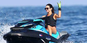 Kendall Jenner de vacaciones en Mónaco
