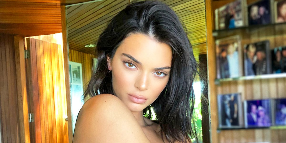 Kendall Jenner Went Fully Topless to Talk About Her Acne Struggles