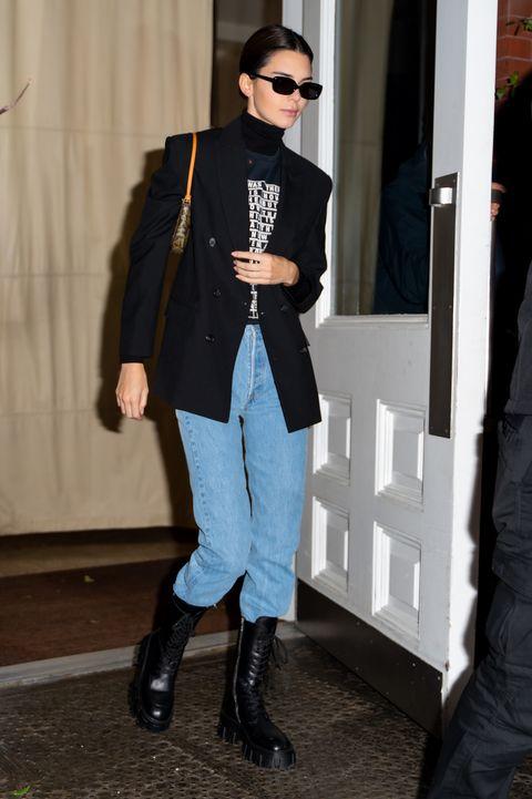 Celebrity Sightings In New York City - November 17, 2019