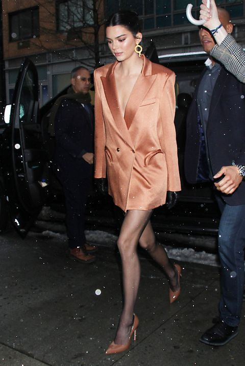 Celebrity Sightings In New York - February 12, 2019