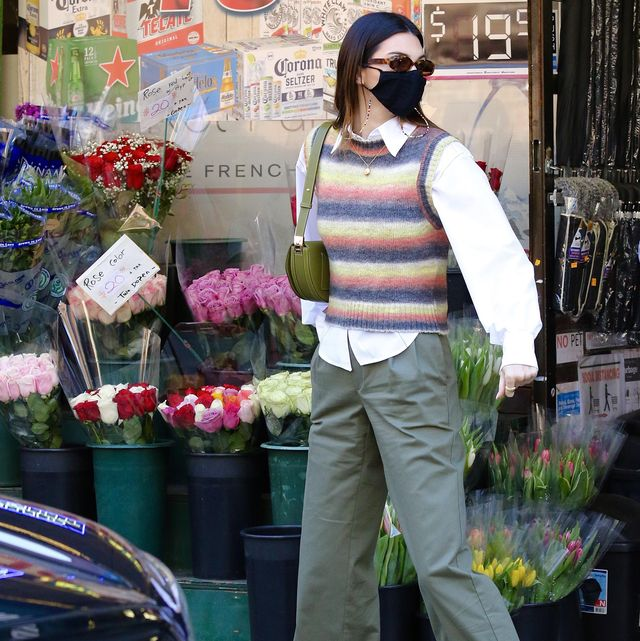 celebrity sightings in new york   march 21, 2021