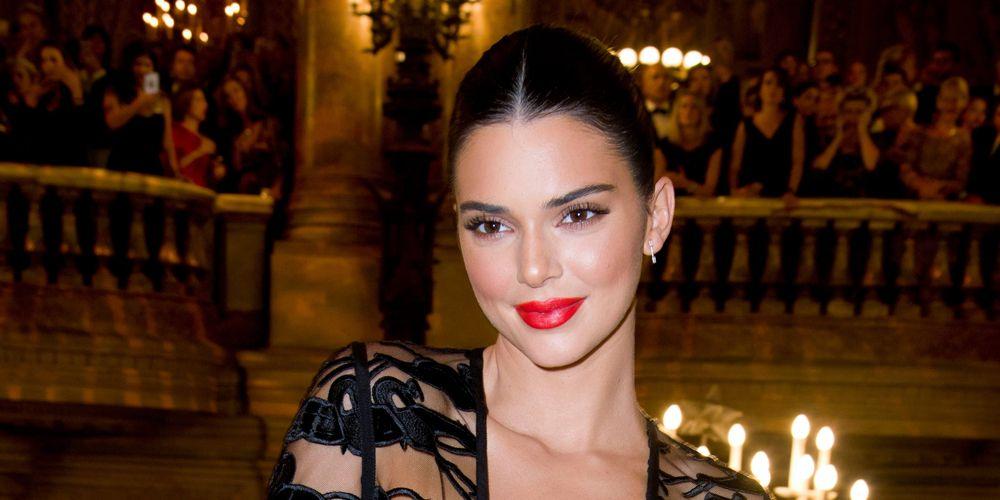 kendall jenner longchamp dinner paris fashion week