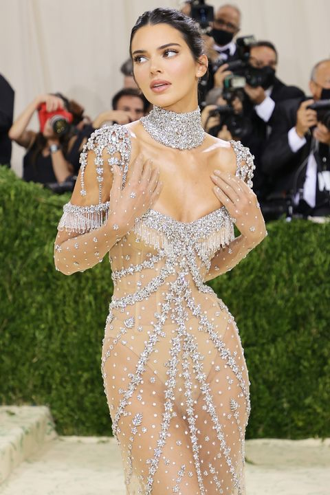 Kendall Jenner channelled Audrey Hepburn at the Met Gala