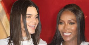 Kendall Jenner and Naomi Campbell shade